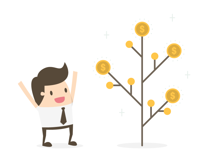 Webdesign Geldbaum Umsatz