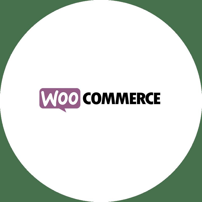 WooCommerce Logo rund