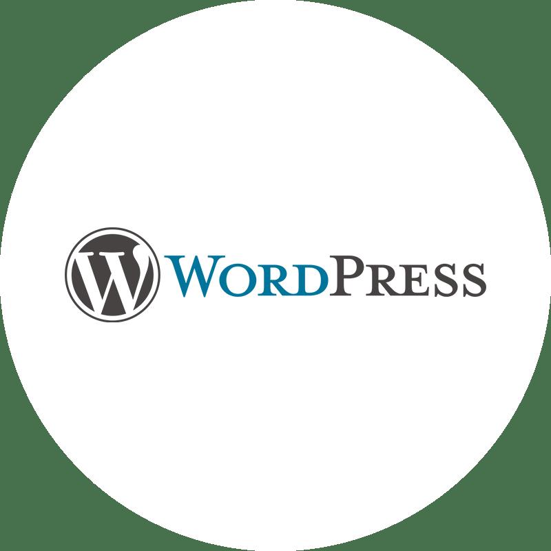 WordPress Logo rund