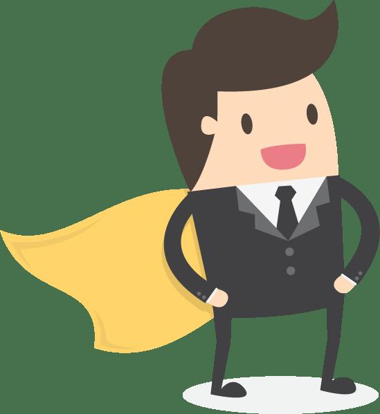Webdesign Superheld